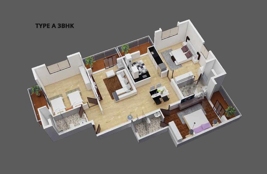 Sunland Ventures_Serene Hills_Floor Plan