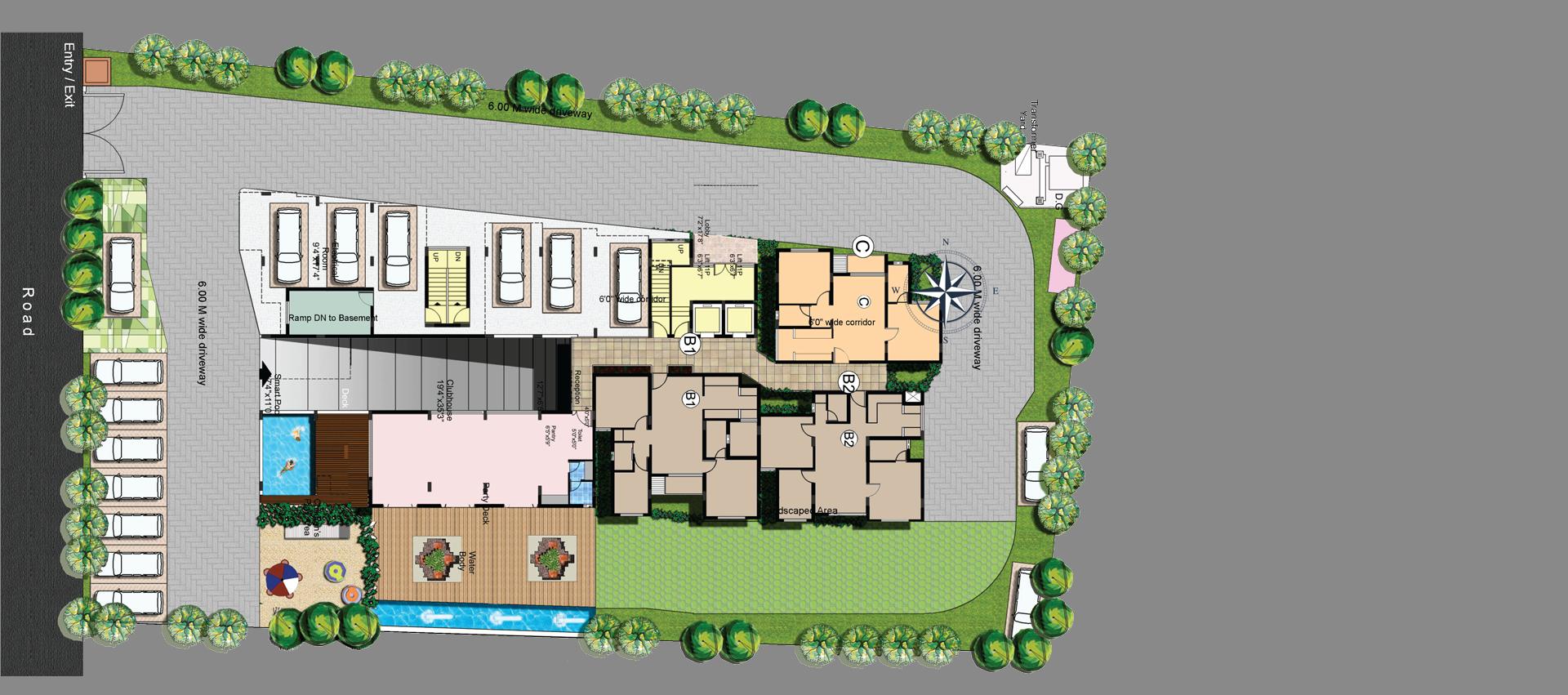 Sunland Ventures_Aspira_Site Plan