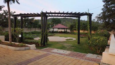 Landscaped-park
